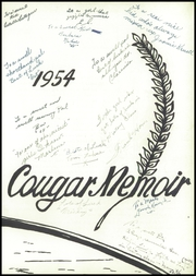 Page 5, 1954 Edition, Charleroi High School - Cougar Memoir Yearbook (Charleroi, PA) online yearbook collection