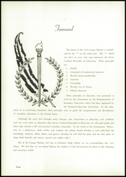 Page 6, 1954 Edition, Charleroi High School - Cougar Memoir Yearbook (Charleroi, PA) online yearbook collection