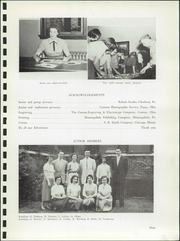 Page 13, 1955 Edition, Charleroi High School - Cougar Memoir Yearbook (Charleroi, PA) online yearbook collection