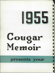 Page 6, 1955 Edition, Charleroi High School - Cougar Memoir Yearbook (Charleroi, PA) online yearbook collection