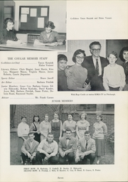 Page 11, 1959 Edition, Charleroi High School - Cougar Memoir Yearbook (Charleroi, PA) online yearbook collection