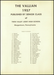 Page 5, 1957 Edition, Twin Valley High School - Vallian Yearbook (Morgantown, PA) online yearbook collection