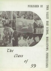 Page 7, 1959 Edition, Twin Valley High School - Vallian Yearbook (Morgantown, PA) online yearbook collection