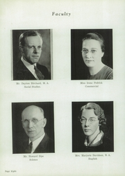 Page 12, 1940 Edition, Montrose High School - Acta Yearbook (Montrose, PA) online yearbook collection