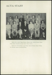 Page 8, 1950 Edition, Montrose High School - Acta Yearbook (Montrose, PA) online yearbook collection