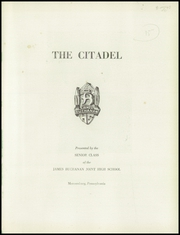 Page 5, 1955 Edition, James Buchanan High School - Citadel Yearbook (Mercersburg, PA) online yearbook collection