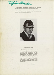 Page 6, 1972 Edition, James Buchanan High School - Citadel Yearbook (Mercersburg, PA) online yearbook collection