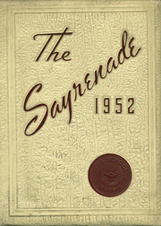 1952 Edition, Sayre High School - Sayrenade Yearbook (Sayre, PA)