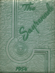 1954 Edition, Sayre High School - Sayrenade Yearbook (Sayre, PA)