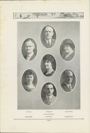 Page 10, 1925 Edition, Rochester High School - Mirage Yearbook (Rochester, PA) online yearbook collection