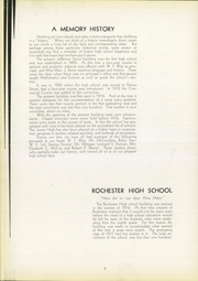 Page 12, 1933 Edition, Rochester High School - Mirage Yearbook (Rochester, PA) online yearbook collection