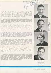 Page 17, 1940 Edition, Rochester High School - Mirage Yearbook (Rochester, PA) online yearbook collection