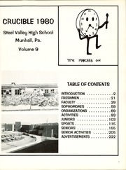 Page 5, 1980 Edition, Steel Valley High School - Crucible Yearbook (Munhall, PA) online yearbook collection