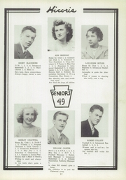 Page 11, 1949 Edition, Hickory High School - Hickory Nut Yearbook (Hermitage, PA) online yearbook collection