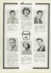 Page 12, 1949 Edition, Hickory High School - Hickory Nut Yearbook (Hermitage, PA) online yearbook collection