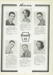 Page 13, 1949 Edition, Hickory High School - Hickory Nut Yearbook (Hermitage, PA) online yearbook collection