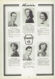 Page 14, 1949 Edition, Hickory High School - Hickory Nut Yearbook (Hermitage, PA) online yearbook collection