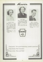 Page 16, 1949 Edition, Hickory High School - Hickory Nut Yearbook (Hermitage, PA) online yearbook collection
