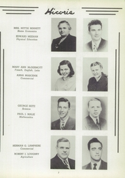 Page 7, 1949 Edition, Hickory High School - Hickory Nut Yearbook (Hermitage, PA) online yearbook collection
