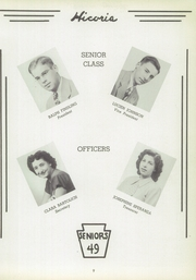 Page 9, 1949 Edition, Hickory High School - Hickory Nut Yearbook (Hermitage, PA) online yearbook collection