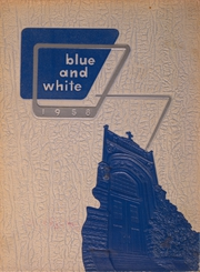 1958 Edition, West Philadelphia Catholic High School - Blue and White Yearbook (Philadelphia, PA)