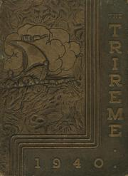 Page 1, 1940 Edition, Ford City High School - Trireme Yearbook (Ford City, PA) online yearbook collection