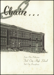 Page 7, 1951 Edition, Ford City High School - Trireme Yearbook (Ford City, PA) online yearbook collection