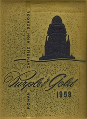 1958 Edition, Roman Catholic High School - Purple and Gold Yearbook (Philadelphia, PA)