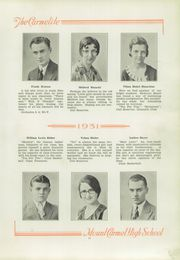 Page 17, 1931 Edition, Mount Carmel Area High School - Carmelite Yearbook (Mount Carmel, PA) online yearbook collection