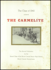 Page 5, 1940 Edition, Mount Carmel Area High School - Carmelite Yearbook (Mount Carmel, PA) online yearbook collection