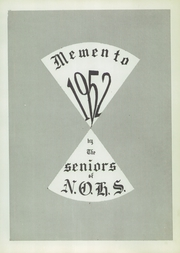 Page 5, 1952 Edition, New Oxford High School - Memento Yearbook (New Oxford, PA) online yearbook collection