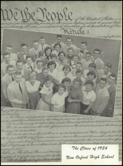 Page 5, 1956 Edition, New Oxford High School - Memento Yearbook (New Oxford, PA) online yearbook collection