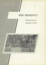 Page 5, 1959 Edition, New Oxford High School - Memento Yearbook (New Oxford, PA) online yearbook collection
