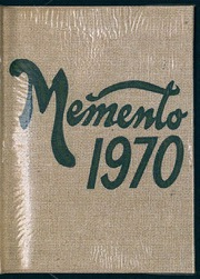 Page 1, 1970 Edition, New Oxford High School - Memento Yearbook (New Oxford, PA) online yearbook collection