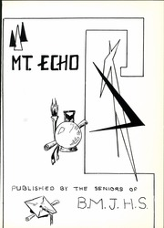 Page 7, 1963 Edition, Blue Mountain High School - Mountain Echo Yearbook (Schuylkill Haven, PA) online yearbook collection