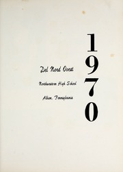 Page 5, 1970 Edition, Northwestern High School - Del Nord Ovest Yearbook (Albion, PA) online yearbook collection