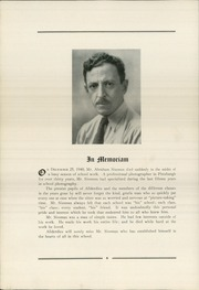 Page 10, 1941 Edition, Allderdice High School - Allderdice Yearbook (Pittsburgh, PA) online yearbook collection