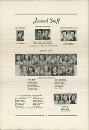 Page 14, 1941 Edition, Allderdice High School - Allderdice Yearbook (Pittsburgh, PA) online yearbook collection