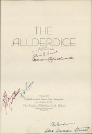 Page 7, 1941 Edition, Allderdice High School - Allderdice Yearbook (Pittsburgh, PA) online yearbook collection
