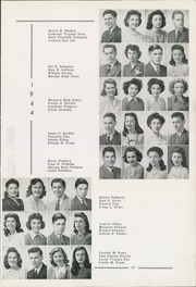 Page 59, 1944 Edition, Allderdice High School - Allderdice Yearbook (Pittsburgh, PA) online yearbook collection
