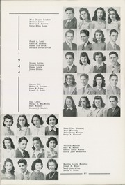 Page 63, 1944 Edition, Allderdice High School - Allderdice Yearbook (Pittsburgh, PA) online yearbook collection