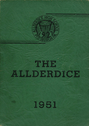 1951 Edition, Allderdice High School - Allderdice Yearbook (Pittsburgh, PA)