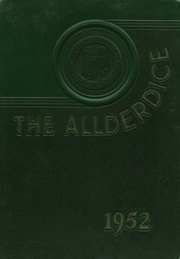 1952 Edition, Allderdice High School - Allderdice Yearbook (Pittsburgh, PA)