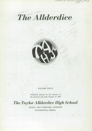Page 7, 1956 Edition, Allderdice High School - Allderdice Yearbook (Pittsburgh, PA) online yearbook collection