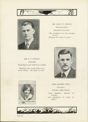 Page 14, 1928 Edition, Windber High School - Stylus Yearbook (Windber, PA) online yearbook collection