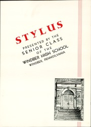 Page 7, 1937 Edition, Windber High School - Stylus Yearbook (Windber, PA) online yearbook collection