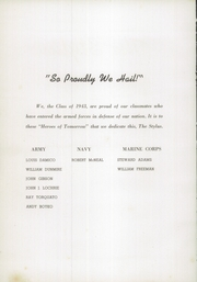 Page 8, 1943 Edition, Windber High School - Stylus Yearbook (Windber, PA) online yearbook collection