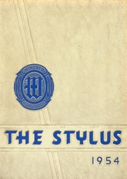 1954 Edition, Windber High School - Stylus Yearbook (Windber, PA)