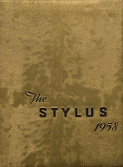 1958 Edition, Windber High School - Stylus Yearbook (Windber, PA)