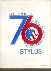 Page 1, 1976 Edition, Windber High School - Stylus Yearbook (Windber, PA) online yearbook collection